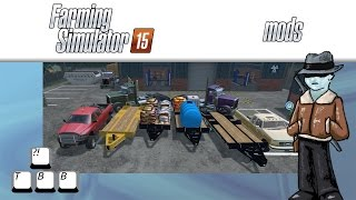 Farming Simulator 15 Mod Spotlight - Trucks and Trailers