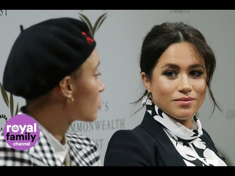 Duchess of Sussex joins Annie Lennox for International Women's Day event