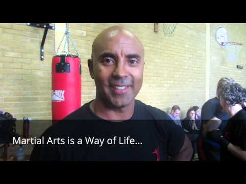 Kevin Brewerton Masterclass at KB Kickboxing 2014