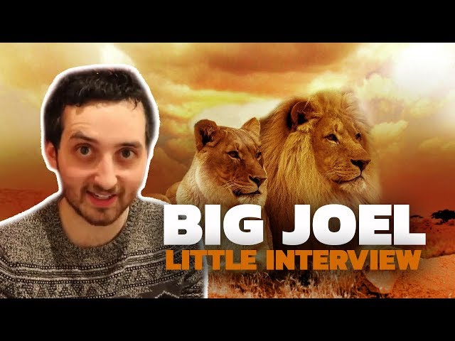 Big Joel's Little Interview (about the Lion King) 2019   The Serfs