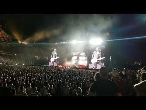 Eric Church - Double Down Tour Set 1 @ Nissan Stadium In Nashville, Tennessee 5-25-19