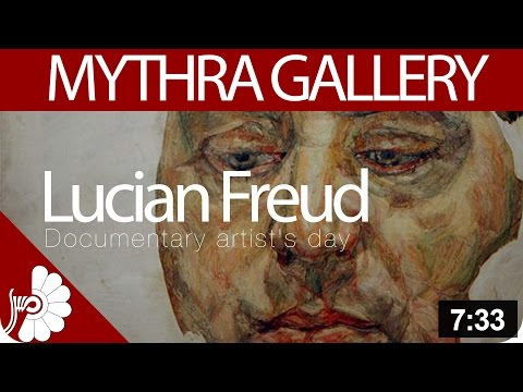 Lucian Freud's normal style life- One day with Freud- Documentary artist's day