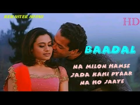 "Na Milon Hamse Jyada - Badal(2000) - Bobby Deol,Rani Mukherjee - Full HD ""1080p"" Video"