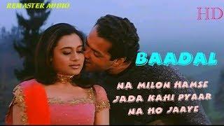 "Na Milon Hamse Jyada - Badal(2000) - Bobby Deol,Rani Mukherjee - Full HD ""1080p"" Video"