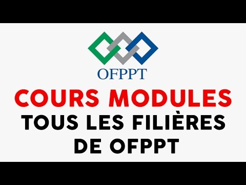 Modules Cours Ofppt 2015 2016
