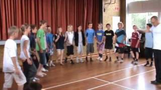 Tolvtakters tværfagligt talekor 5 klasse evaluering 2010