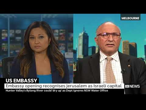 Colin Rubenstein on US Embassy move to Jerusalem
