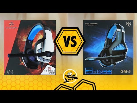 Hunterspider V-4 vs Beexcellent GM-5 Gaming Headset