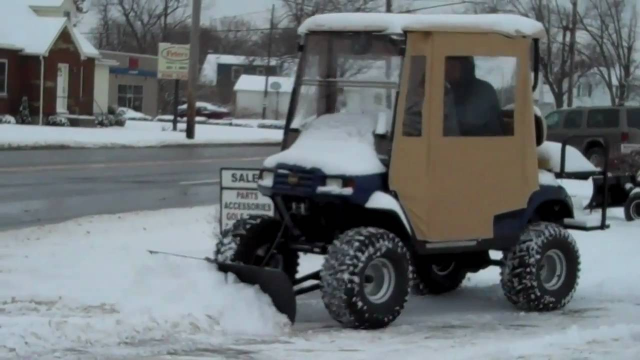 Power Equipment Solutions Quot Cycle Country Quot Golf Cart Snow