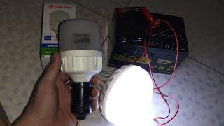 Bóng đèn led Rạng Đông sử dụng ắc quy điện DC 12v - 24V chíp led Samsung sử dụng khi cúp điện