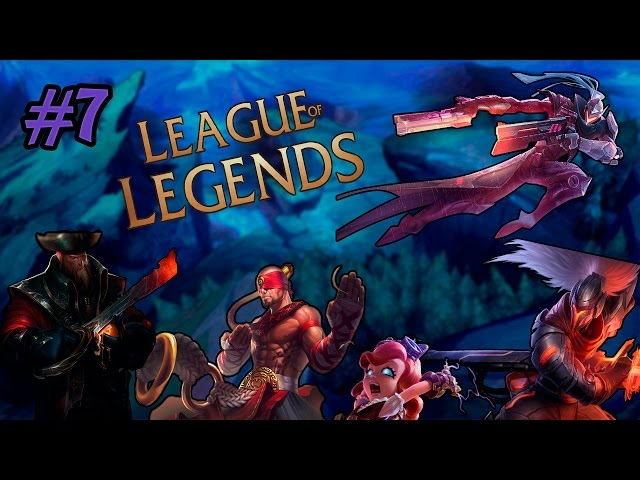 League of Legends #7 A volta dos retardados/Boosted animals
