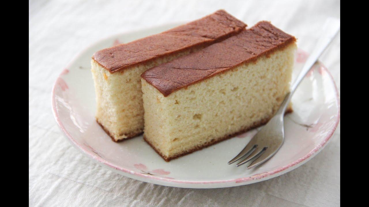 Japanese Sponge Cake Kasutera Recipe