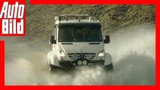 Mercedes Sprinter - Sprinter-Umbau  fürs Grobe