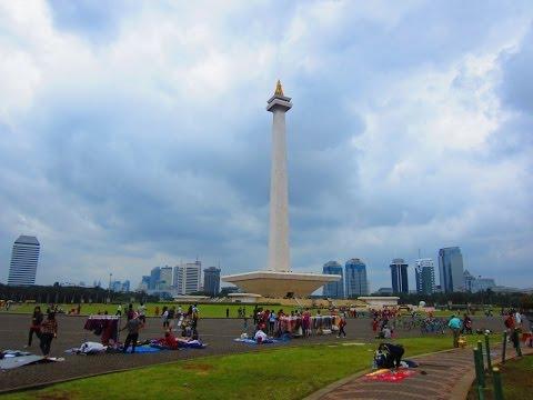 Merdeka Square & Istiqlal Mosque - Jakarta's central park