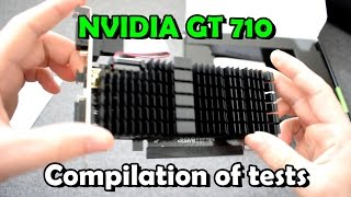 20 Games on GeForce GT 710 1GB (GTA5, DOOM, FIFA17, WOT & More)