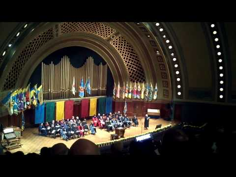 2013 University of Michigan School of Social Work Masters Degree Commencement