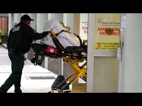 В США от коронавируса скончались уже 26 тысяч человек, в Нью-Йорке люди умирают каждые 2,5 минуты.