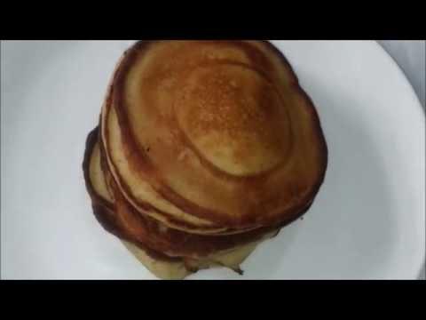 pancake-banane-rapide-pour-diabétiques-de-type-2/-healthy-وصفةبانكيك-للمرضى-داء-السكر-او-للرياصين