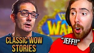 Asmongold Reacts To Classic Wow With Creators Jeff Kaplan Tom Chilton