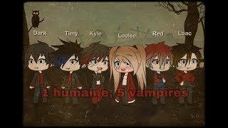 Gambar cover «1 humaine, 5 vampires» / GLMM