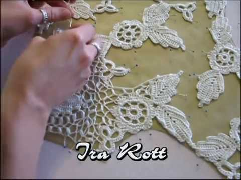 Irish Crochet 2 Youtube
