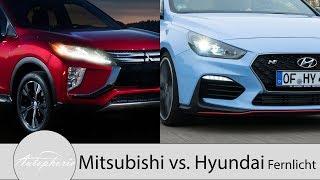 Mitsubishi Eclipse Cross vs. Hyundai i30 LED-Scheinwerfer Pro und Contra [4K] - Autophorie