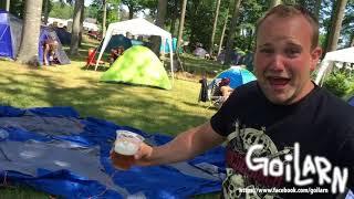 Hur man sätter upp ett tält på sweden rock