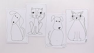 PREVIEW: How to Draw Dogs and Cats - with Barb Owen - HTGC Member Class s03e06