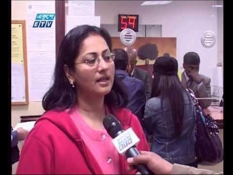USA Bengali Community Passport Visa Problem- New York-Ekushey Television ETV, Akhil Podder
