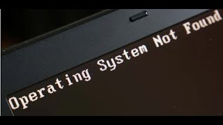 حل مشكلة عدم وجود الويندوز operating system not found او missing operating system