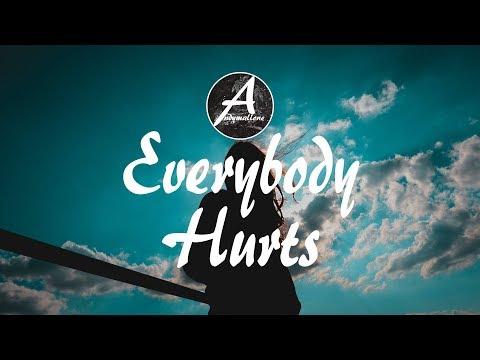 The Him ft. Ivy Adara - Everybody Hurts (Lyrics / Lyric Video)