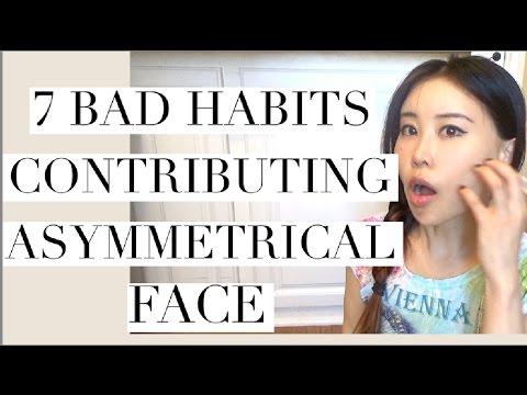 7 Bad Habits Contributing Asymmetrical Face | How to Fix Facial Asymmetry