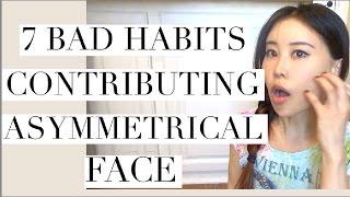 7 Bad Habits Contributing Asymmetrical Face | How to Fix Facial Asymmetry thumbnail