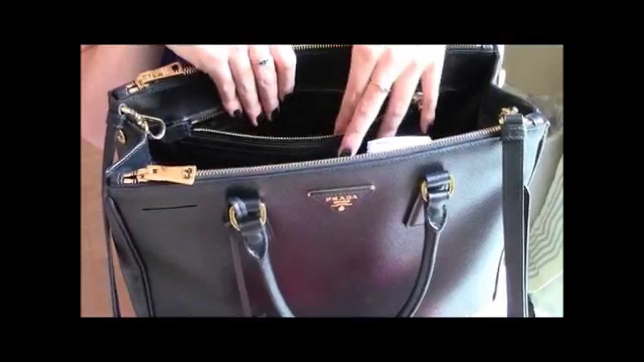 What S In My Prada Tote Saffiano Bag Review