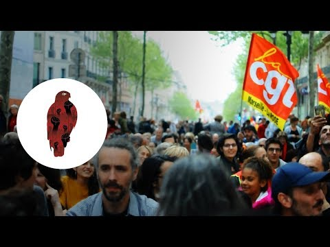 Manifestation Marseille 14 Avril 2018, STOP MACRON