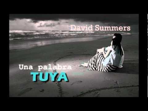 Una palabra tuya - David Summers