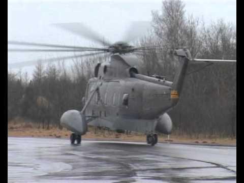 Den Sidste Flyvetur Med Helikopteren S-61, U-276
