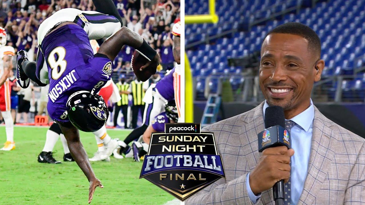 Lamar Jackson's 'thirst to be great' on full display vs. Kansas City | NBC Sports