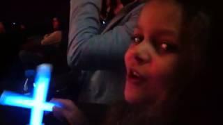Emilka na koncercie