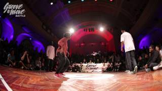 GROOVE'N'MOVE BATTLE 2015 - Hip-Hop semi-final / Tatiana&Stéphane vs Perla&Stylez'c