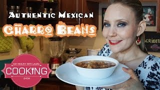 Mexican Charro Beans ♥ Eat Healthy With Laura