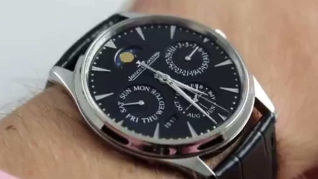Jaeger-LeCoultre Master Ultra Thin Perpetual Q1308470 Luxury Watch Review 9a91a5e3c8