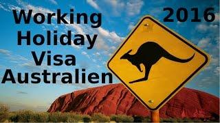 Australisches Working Holiday Visa beantragen - So geht