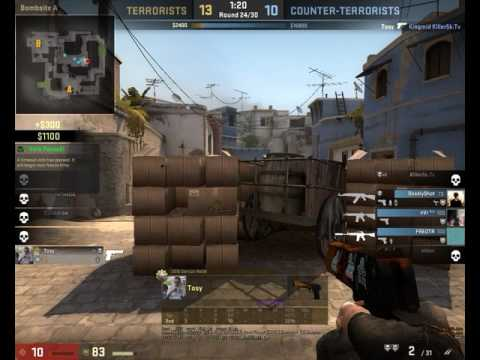 Having fun with a deagle in global MM :^)