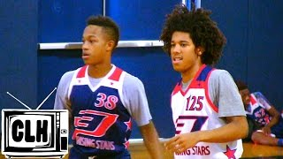 Tyger Campbell vs Johnathan McGriff at CP3 Rising Stars Camp - Class of 2019 Battle - CP3RS15