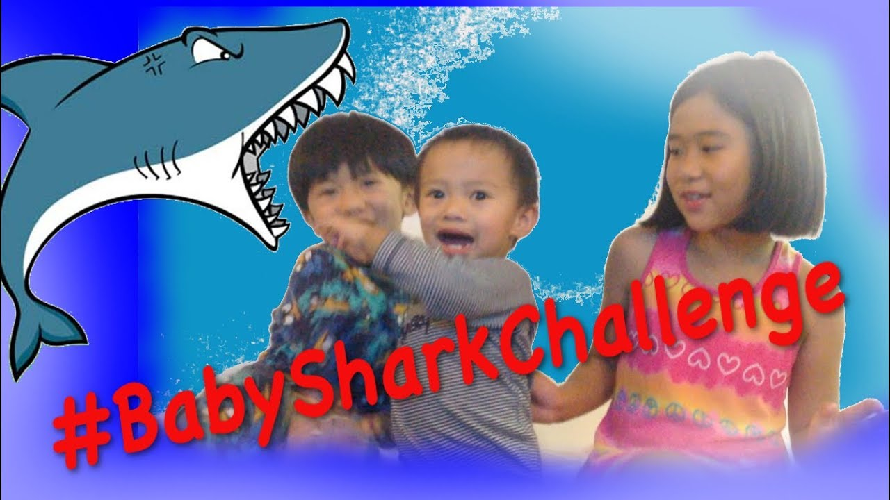 Baby Shark Dance Challenge with Fun Kids Toy House - YouTube