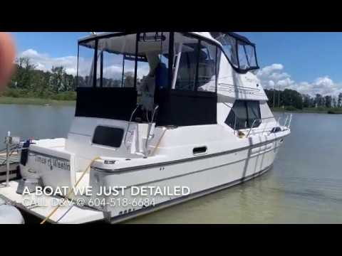 Interior Detail & Mold Removal from a Boat