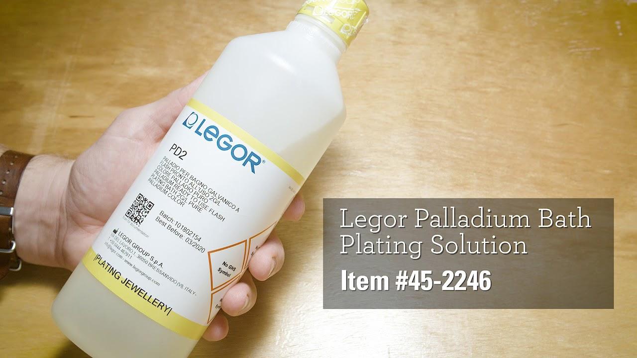 Legor Palladium Bath Plating Solution