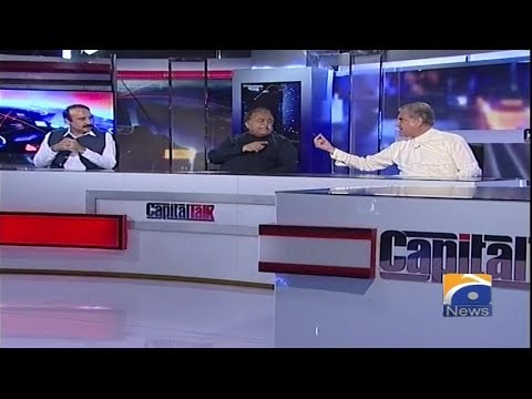 Capital Talk - 21 May 2018 - Geo News