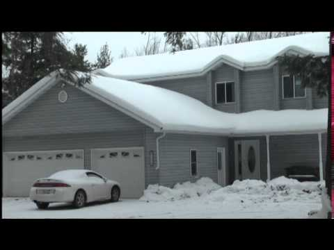 How to handle snow loads on your roof youtube for Snow loads on roofs